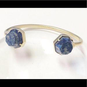 Kendra Scott  Blue Lapis Brinkley Cuff Bracelet